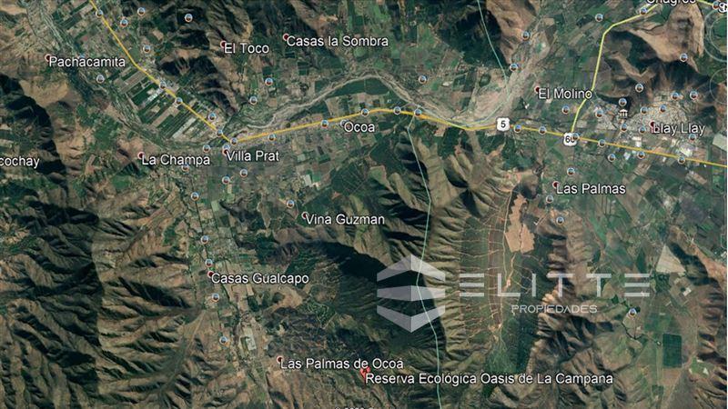 Agrícola en Venta en (RBR) Las Palmas del Limonar - lote 7 - Condominio Oasis La Campana - Hijuelas