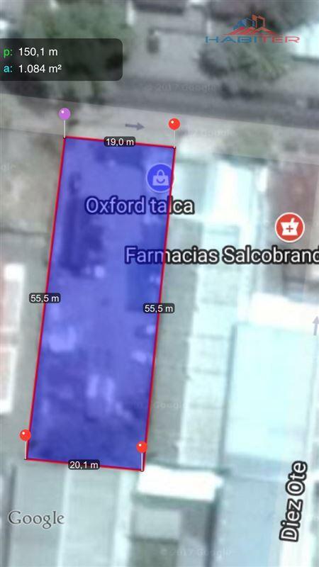 Sitio en Venta en 1 Norte entre 9 y 10 Oriente,Ciudad de Talca, Región del Maule